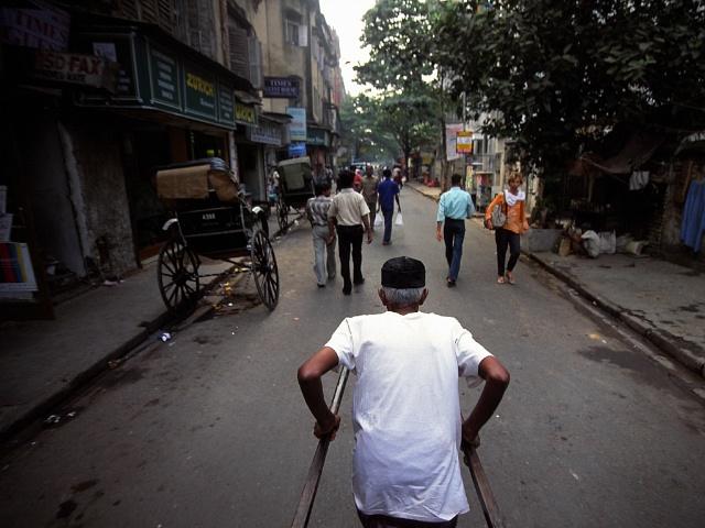 Rickshaw Kolkata, India